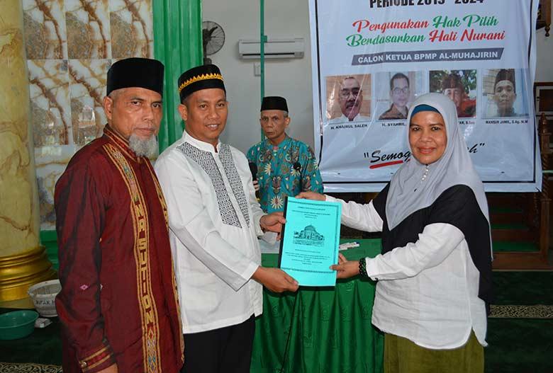 Syahril Terpilih sebagai Ketua Masjid Paripurna Al Muhajirin