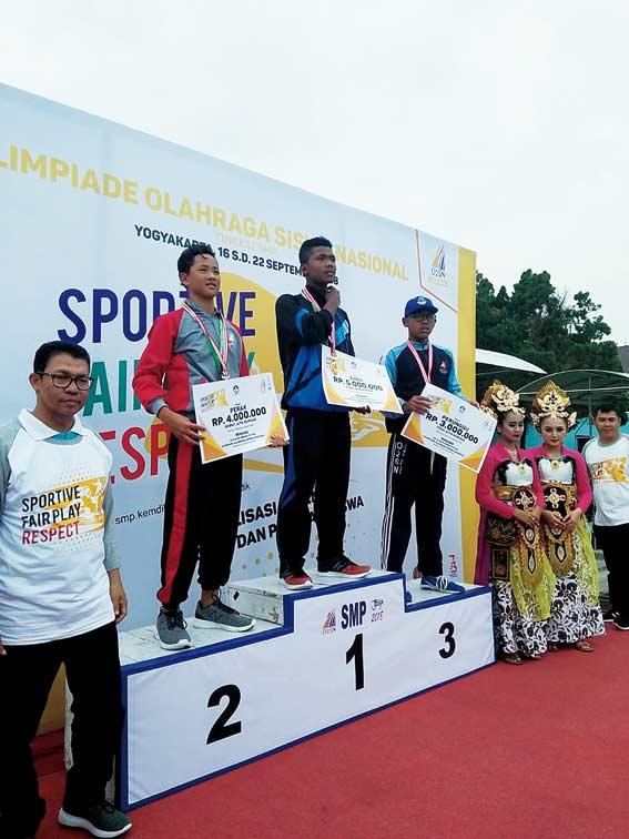 Atlet Kuansing  Sumbangkan Dua Medali