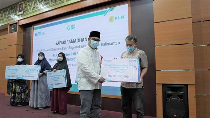 Safari Ramadan PLN UIP3BS Salurkan Santunan Rp1,7 M