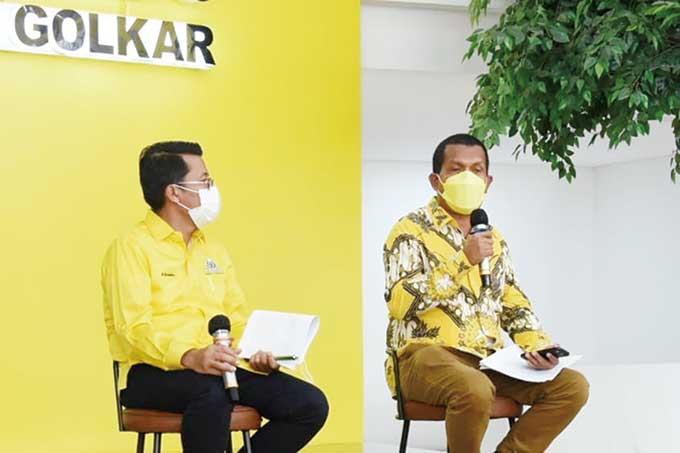 Golkar Bangga pada Keberhasilan Jokowi-Ma'ruf Amin Kendalikan Covid-19