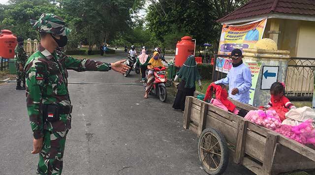 TNI Kawal Aktivitas Masyarakat