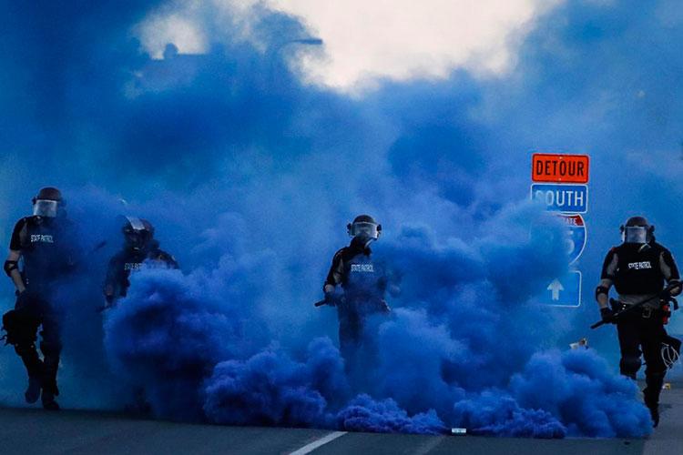 Jurnalisnya Disemprot Merica oleh Polisi saat Kerusuhan, Rusia Peringatkan Amerika