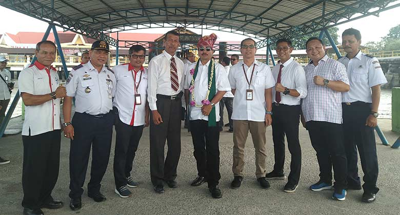 Menteri Pariwisata Kagum Fasilitas Pelabuhan Internasional Pelindo Dumai