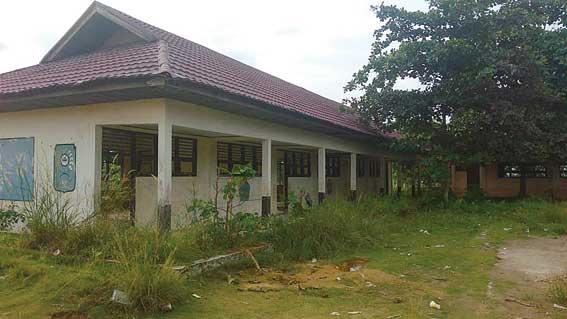 SDN 008 Jadi Bangunan Mubazir