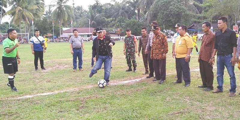 Pemkab Janji Perhatikan Sarana Prasarana Olahraga