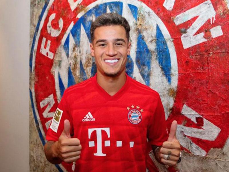 Philippe Coutinho Pindah ke Bayern