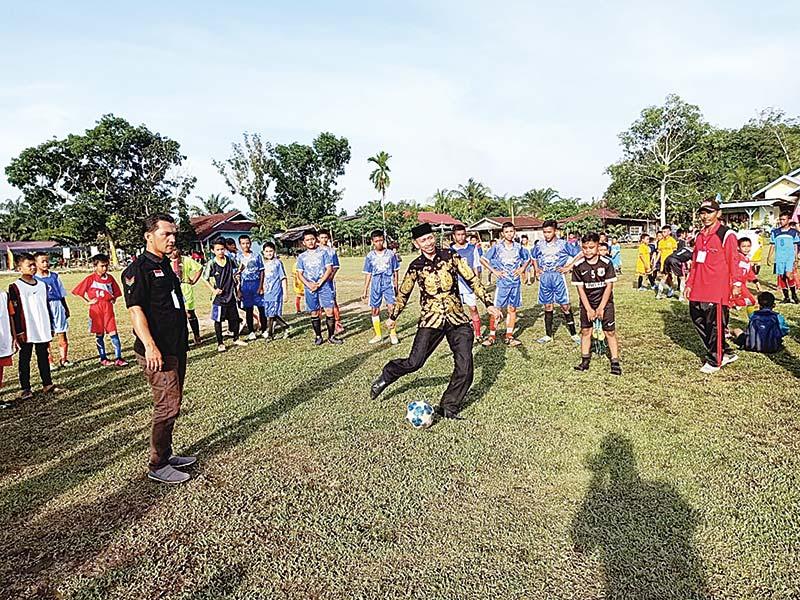 Turnamen Sepakbola PSSI Bathin Solapan Cup I Dimulai