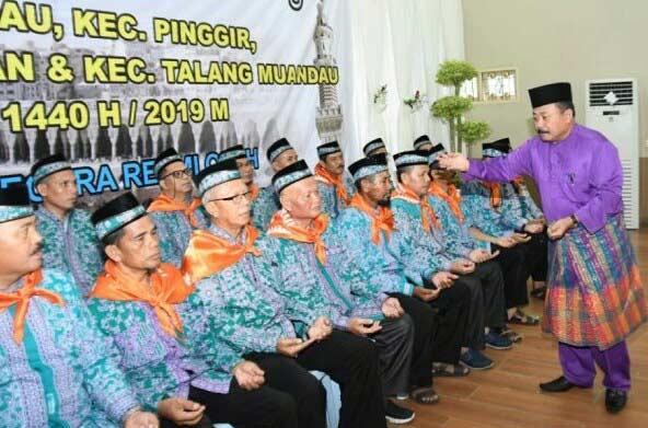 Ratusan JCH Empat Kecamatan Ditepungtawari di Duri