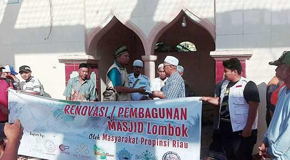 Bangun Kembali Masjid dan Musala yang Roboh