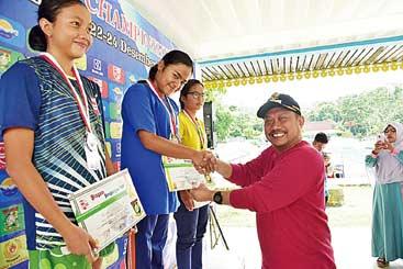 Kampar Open Aquatic Championship Sukses