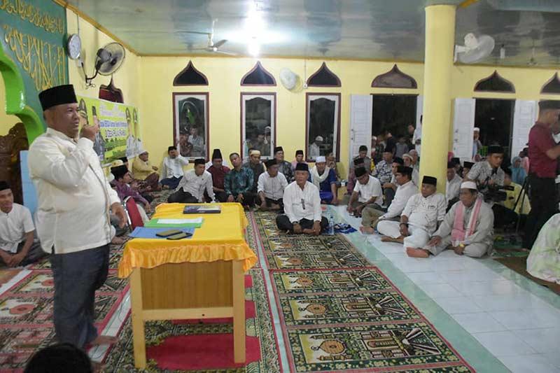 Safari Ramadan Pemkab Kampar di Pulau Rambai