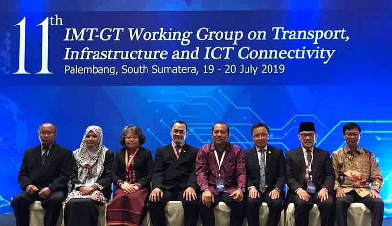 Wali Kota Dumai Hadiri IMT-GT di Palembang