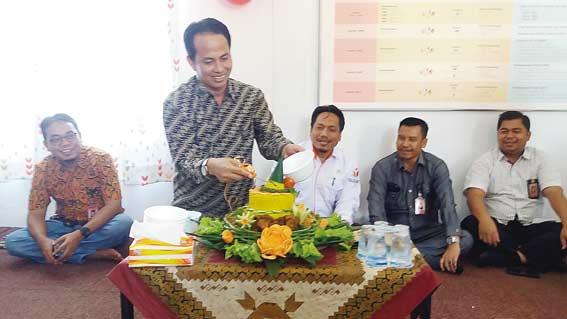 KPU Pelalawan Resmikan Rumah Pintar Pemilu