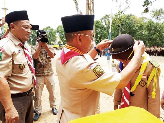 SMAN 2 Pangkalankerinci Perkemahan Akbar se-Riau