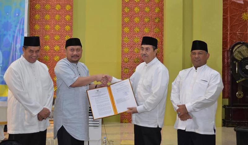 Bupati Sambut Safari Gubernur Riau di Kampar