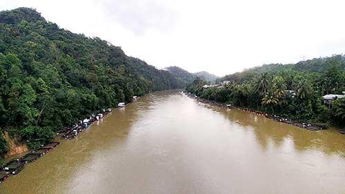 Potensi Banjir  Kampar Menurun