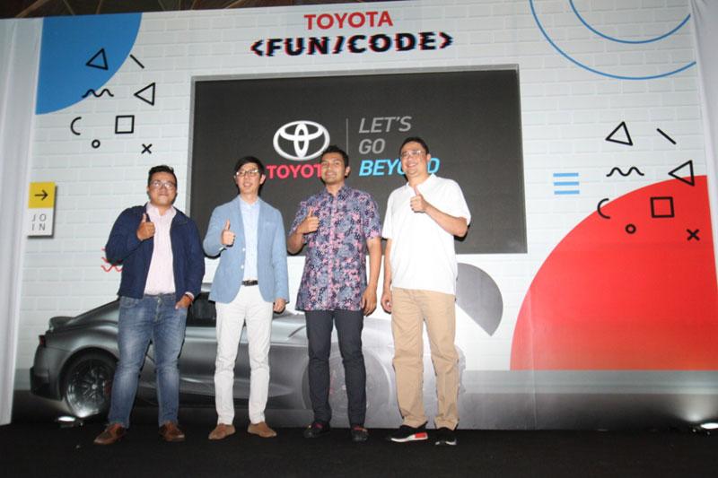 Toyota Gelar Kompetisi Pemrograman Digital