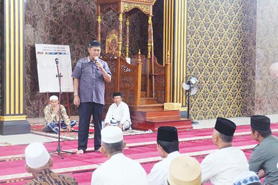 Wabup Safari Ramadan ke Kateman