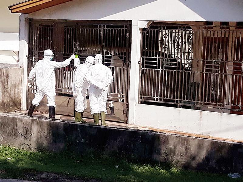 Keluarga Pasien Positif Ketiga Diisolasi di Duri