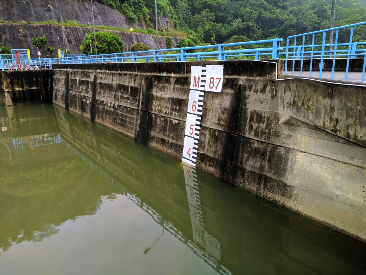Air Naik Drastis, PLTA Naikkan Bukaan Pintu Hingga 1,5 meter Sore ini