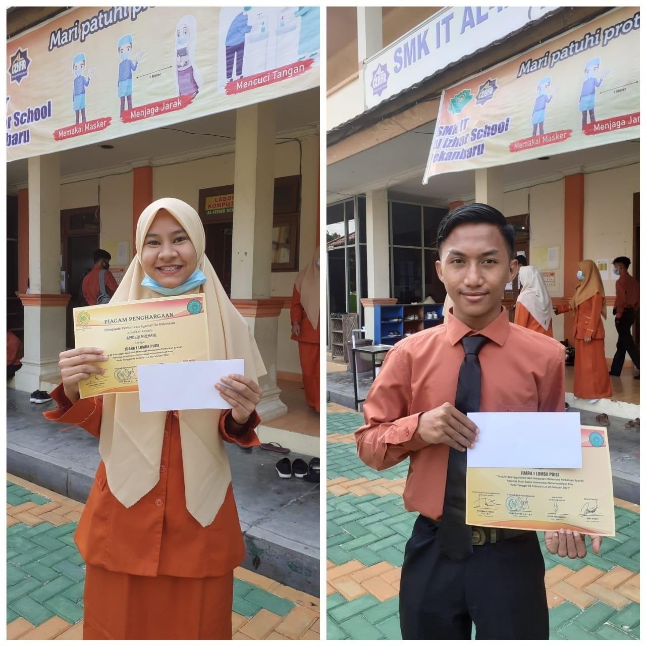 Siswa SMKIT Al Izhar School Perbankan Syariah Pekanbaru