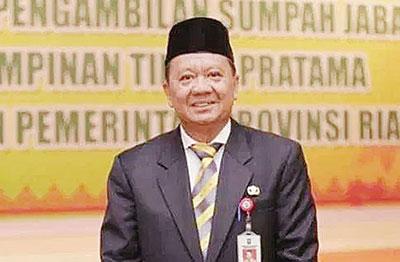 Kadisnakertrans Riau Disebut Jadi Pj Wako Dumai