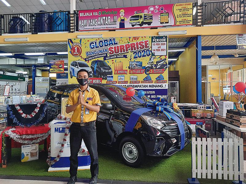 Global Bangunan Surprise Sediakan Dua Unit Mobil