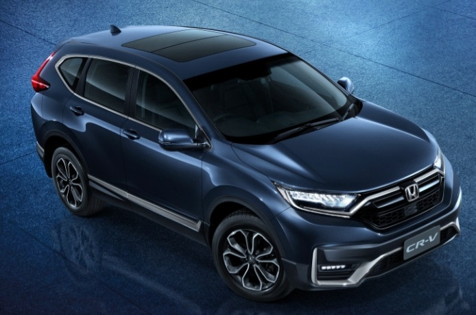 Ini Ubahan Honda CR-V Facelifted