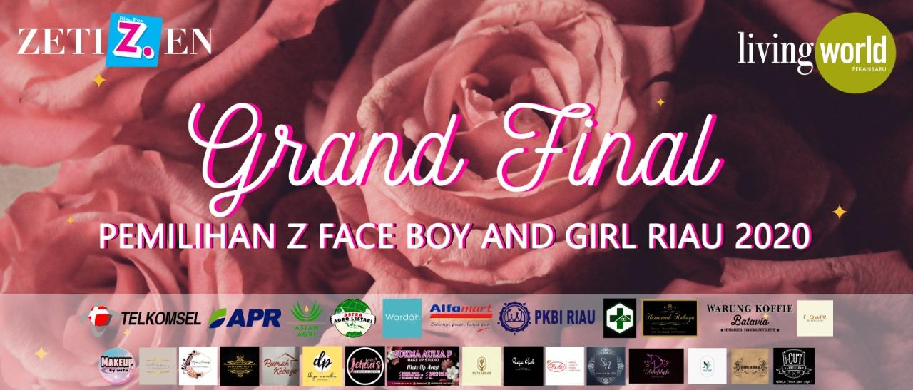 Hari ini, Grand Final Z Face Dihelat di Living World