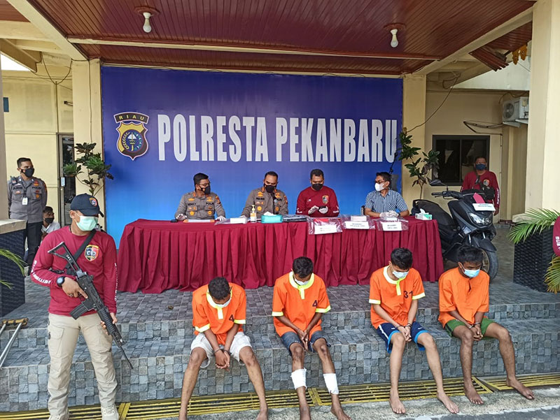 Polisi Tangkap Empat Pelaku Jambret