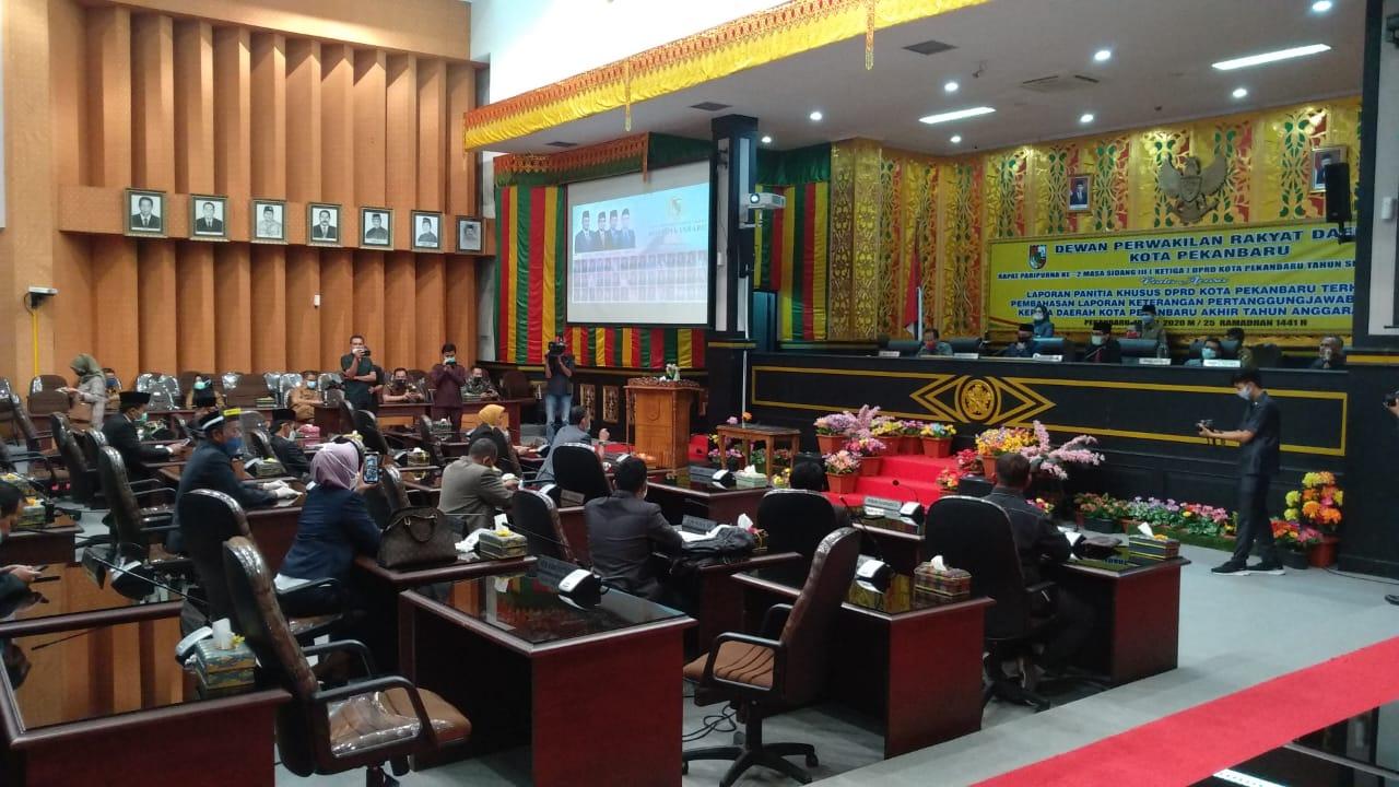 27 Anggota DPRD Pekanbaru Ajukan Mosi Tak Percaya, Ini Jawaban Hamdani