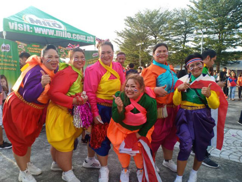 Pemerintah Thailand Total Biayai Kelompok Suporternya ke SEA Games