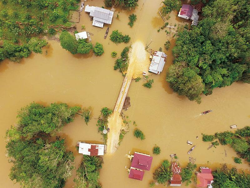 Banjir Meluas, Ketinggian Air 2 Meter