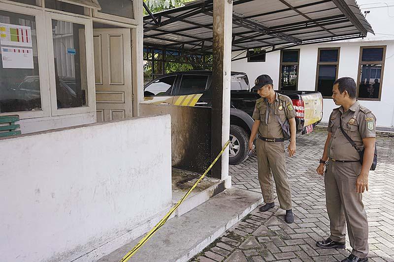 Kasus Molotov Kantor Satpol PP Belum Terungkap