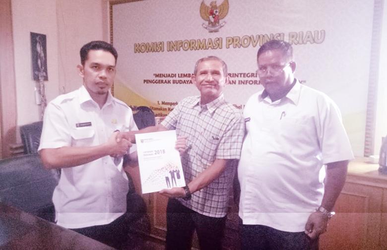 Erisman Yahya Dilantik Sebagai Kaban Penghubung Provinsi Riau di Jakarta