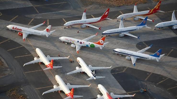 Boeing Hentikan Produksi 737-Max