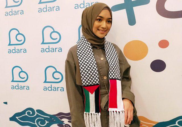 Bantu Palestina, Citra Kirana Lelang Baju