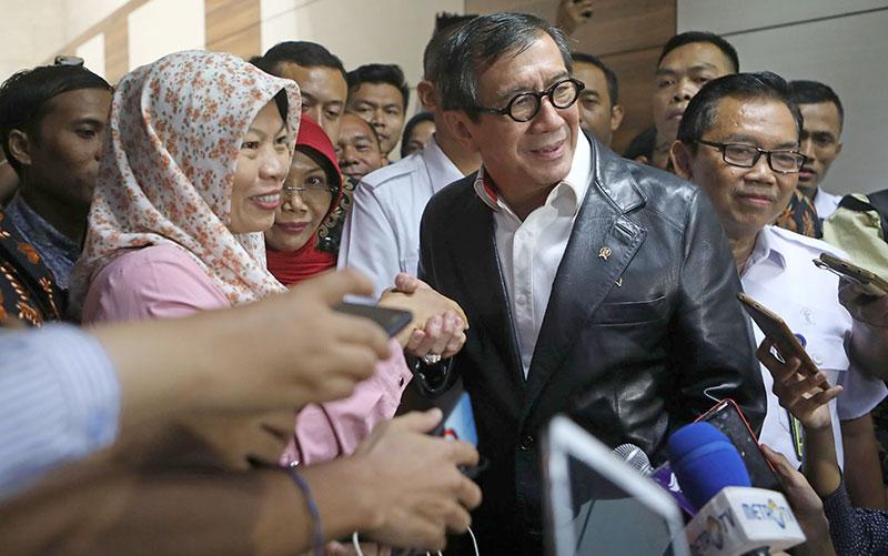 Keppres Amnesti Diteken Awal Pekan Depan