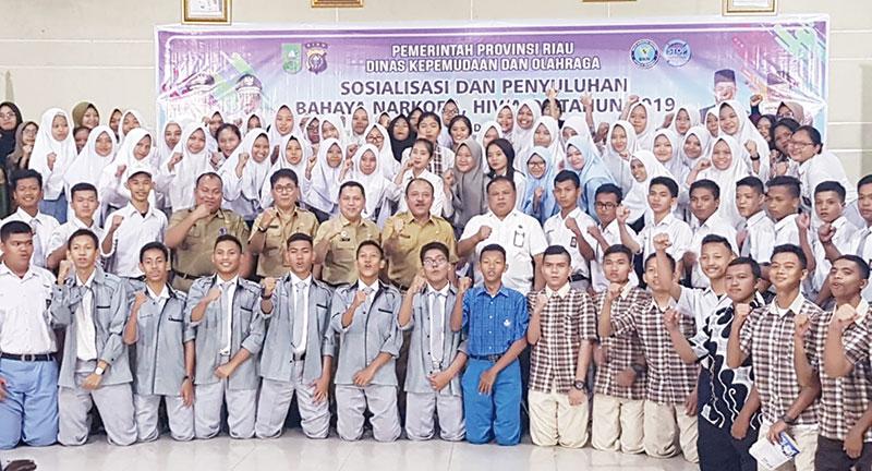 Pemuda Riau Jangan Mudah Terpengaruh Narkoba