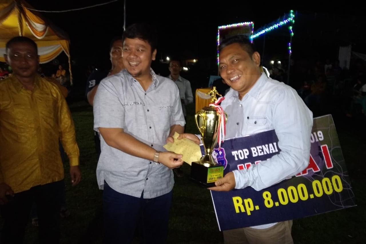Harapan, TOP Benai Cup tahun 2019 Jadi Turnamen Sepakbola Rutin