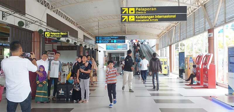 Karhutla Belum Ganggu Jadwal Penerbangan Bandara SSK II