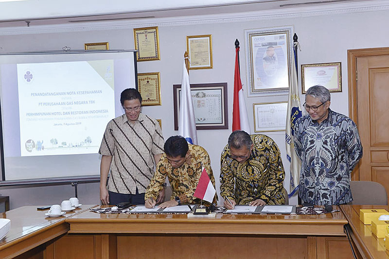PGN-PHRI Se-Indonesia Tanda Tangani Kerja Sama