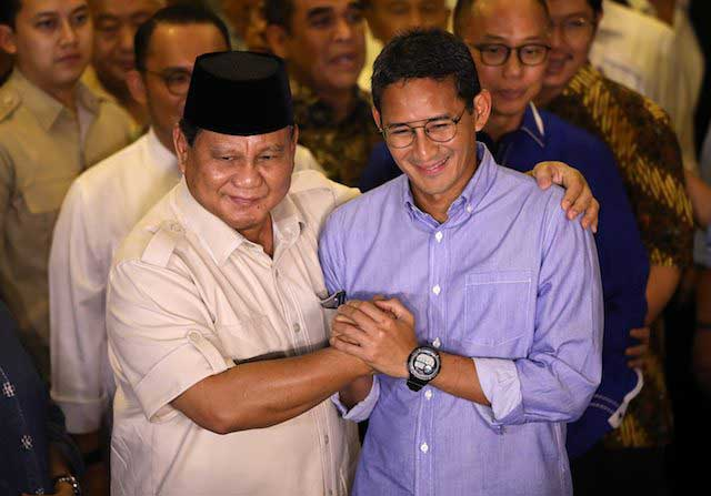 Internal Gerindra Bantah Sandiaga Uno Gantikan Prabowo Jadi Ketum