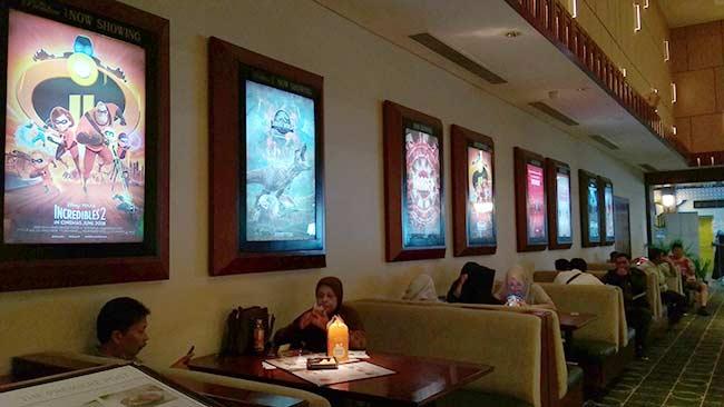Bioskop dan Mal Jadi  Pilihan Habiskan Liburan