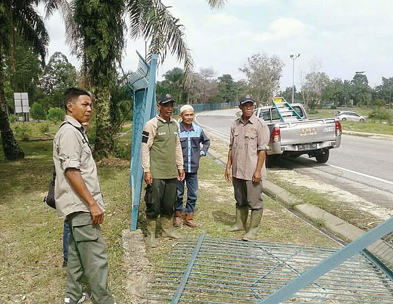 Gajah Seruni Bobol Pagar Chevron