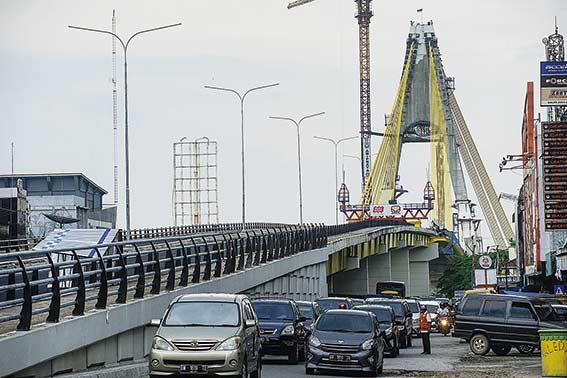 Menunggu  Nama  Jembatan  Siak IV