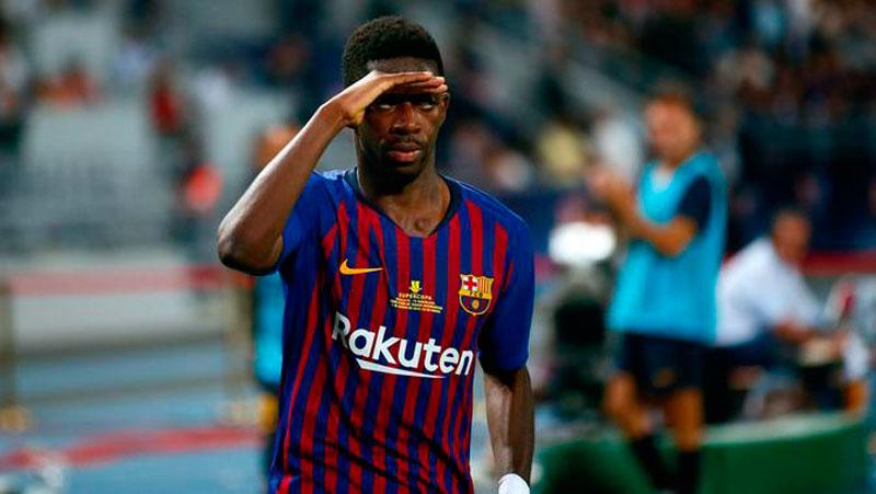 Ousmane Dembele Susul Messi dan Suarez Cedera