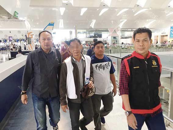 Koruptor Vaksin Umrah Ditangkap di Kota Medan
