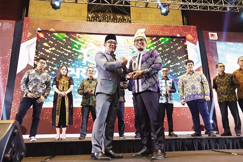 PT RAPP Borong 2 Penghargaan PR Indonesia Awards 2019