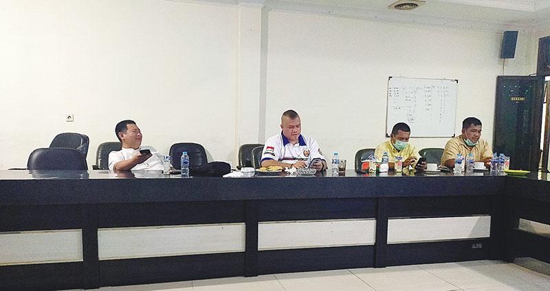 Golkar Bahas Mosi Tak Percaya Terkait Ketua DPRD Inhu